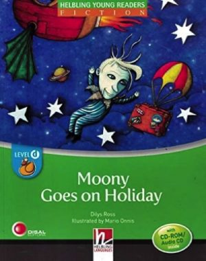 MOONY GOES ON HOLIDAY + CD/CDR