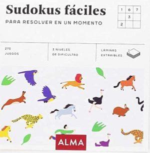 SUDOKUS FÁCILES PARA RESOLVER EN UN MOMENTO