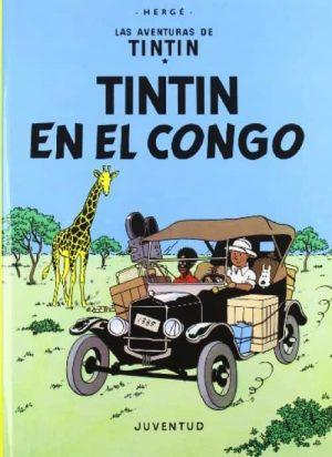TINTÍN EN EL CONGO (CARTONÉ)