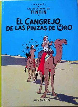 EL CANGREJO DE LAS PINZAS DE ORO (CARTONÉ)