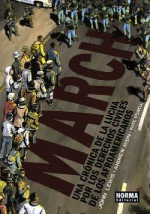 MARCH:CRONICA LUCHA POR DERECHOS CIVILES AFROAMERI